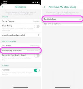 How to Stop Snapchat Saving Photos to Camera Roll on iPhone, Android)