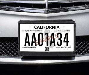 Dealerships must help, but drivers still on the hook to have 2 license  plates – Orange County Register