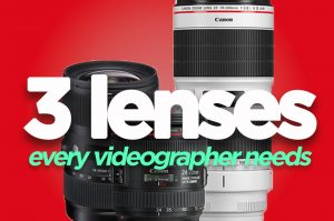 Best Lens for Videography - How to up Your Filmmaking Game - DigiProTips