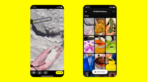 Snapchat redesigns its app with new action bar | TechCrunch