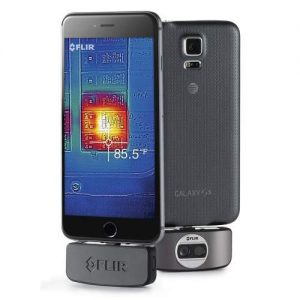 4 Ways to Turn Your Cell Phone into a Thermal Camera: FLIR vs Seek vs  Therm-App vs CAT - TectoGizmo