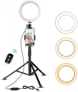 Best Ring Light With Tripod Stand 2021: How Does a Ring Light Work? -  Rolling Stone