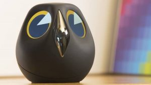 This Home-Monitoring Owl Shows You Just Who's There