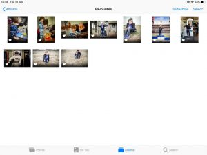 How to Resize photos on an iPad - Snaps & Stories