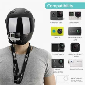 Cameras & Photography Helmet Front Chin Mount Adjustable Support For Gopro  Hero 7 6 5 4 Accessories kisetsu-system.co.jp