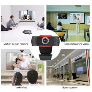 720P MANUAL FOCUS WEBCAM USB CAMERA WITH MICROPHONE - Neon Technology
