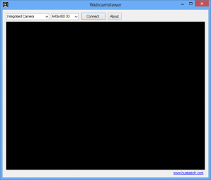 How to view web camera without installing software (Windows 7 or Windows 8)