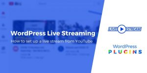 Beginner's Guide to WordPress Live Streaming (Works With YouTube)