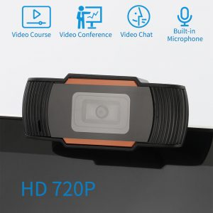 Full HD 720P Webcam Plug&Play USB Web Camera with Built-in Microphone for  Computer, Laptop - U`King