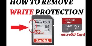 How to Remove Write Protection on Micro SD Cards? – SKCIPL
