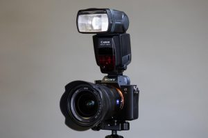 Using a Canon Speedlite Flash with a Sony A7R III