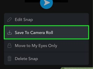 How to Save Memories to the Camera Roll on Snapchat: 9 Steps