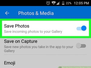 How to Save Pictures on Facebook Messenger on Android: 9 Steps