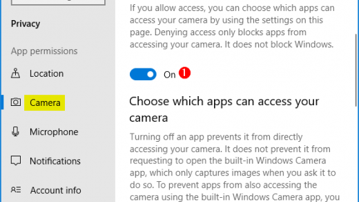 3 Ways to Fix Camera App Not Working in Windows 10 | Password Recovery