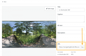 Embedding 360° Photos and Virtual Reality (VR) Content – Support — WordPress .com