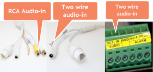 How to add a microphone to an IP Camera / CCTV Camera World Knowledge Base
