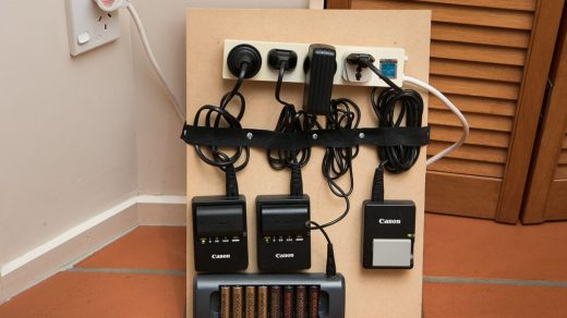 DIY battery charging station | Photography storage, Photography equipment  storage, Photography studio design