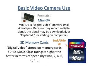 PPT - Basic Video Camera Use PowerPoint Presentation, free download -  ID:1576259