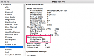 How to Make Macbook Battery Cycle Count Last Longer