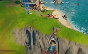 Fortnite: Place a camera near the Beachside Mansion Location - @2021 Latest