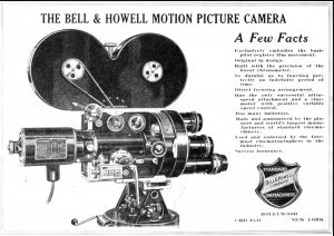 Bell & Howell Standard Cinemachinery Type 2709 — chicagology