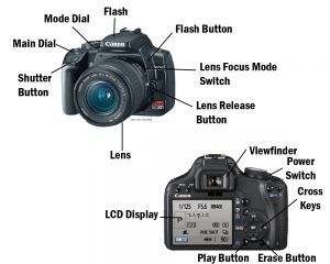 SLR Camera – Labelling the parts | BLOG