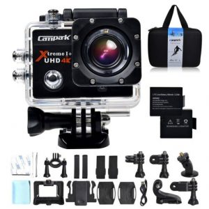Campark 4k Wifi Ultra HD Waterproof Sports Action Camera Review   Eunoia  Reviews