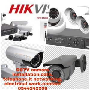 CCTV Installation in Dubai Sharjah Ajman and UAE – CCTV Installation,  Security System, Automatic Barriers, Electrical Installation, IT  Networking, Data Telephone, PABX Installation,