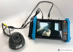 Troubleshooting a CCTV Camera with No Picture
