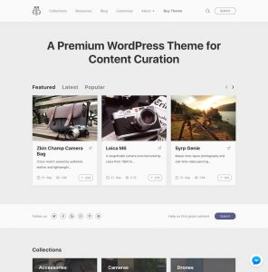 5 Best Content Curation & Social Voting WordPress Themes 2019
