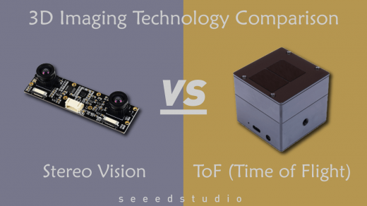 ToF (Time of Flight) vs Stereo Vision - 3D Imaging Technology Comparison -  Latest open tech from seeed studio