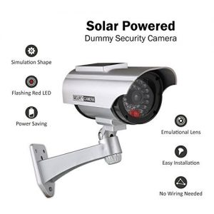Check Out This Fantastic Device for Your Home - ANNKE Solar Powered Dummy  Fake Security Camera with Fla…   Security cameras for home, Red led, Dummy security  camera