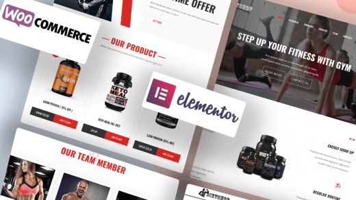 Diet-Shop WordPress Gym Theme for Gym/Fitness, Weight Loss & Health