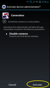 How to disable camera on Android smartphones and tablets [Tip] | dotTech