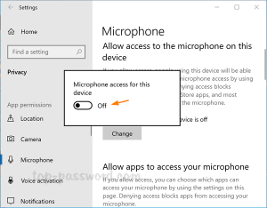 3 Ways to Mute or Turn off Microphone in Windows 10   Password Recovery