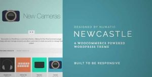 Download and review of Newcastle - A WooCommerce Powered WordPress Theme,  one of the best Themeforest eCommerces