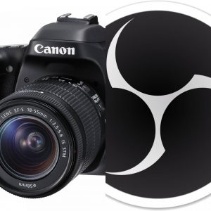 How to Connect Canon EOS DSLR to OBS Streaming Software for Windows | sleon  productions