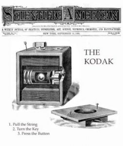 """Kodaking"""" – The Lense of George Eastman and case study of Kodak Company 