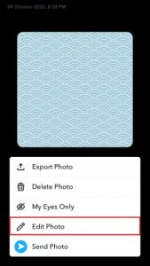 How to Send Snaps From Camera Roll (As a Normal Snap) - Followchain