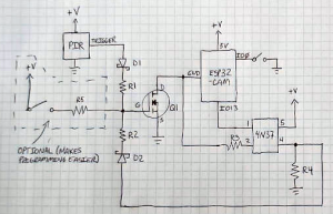 ESP32 Trail Camera Goes The Distance On AA Batteries   Hackaday