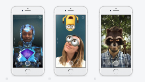 Facebook Keeps Copying Snapchat: Adds Camera Filters, 24-Hour Stories,  Direct Messages - Variety