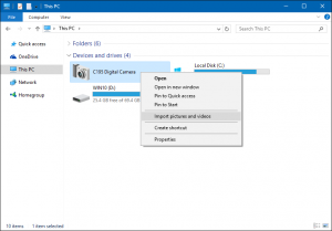 Complete Guide to Importing Your Photos in Windows 10 - Microsoft Community
