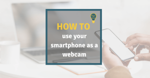 Using a smartphone as a webcam - this is how it works | How2forU