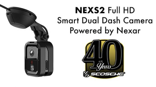 SCOSCHE Industries Previewed NEXS2 Full HD Smart Dual Dash Camera – Powered  by Nexar, at CES   12VoltNews.com