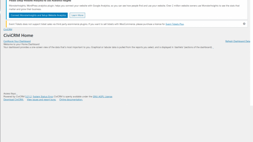 CiviCRM WordPress doesn't work suddenly - CiviCRM Stack Exchange