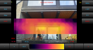 Android-based thermal camera | Work-is-Playing