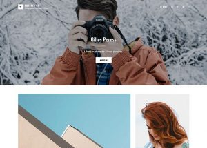 Shutter Up - Simple and Elegant Free Photography WordPress Theme