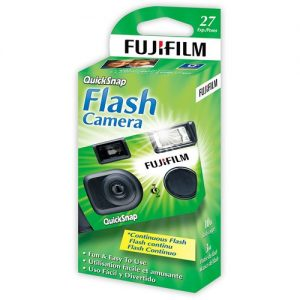 FUJIFILM Disposable Camera 35mm QuickSnap 27 shots, Photography, Cameras,  Others on Carousell