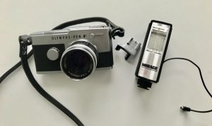 Using the Flash Shoe Accessory for My Olympus Pen FT – Natalie Smart Film  Photography