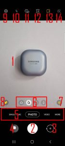 How to use Galaxy S21 Camera App? - Samsung Galaxy S21 Guides